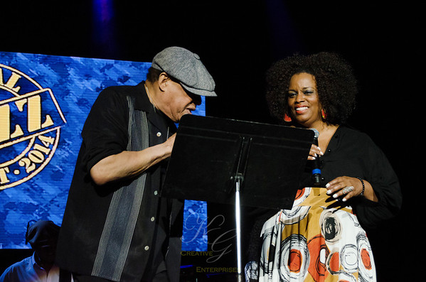 Al Jarreau and Dianne Reeves